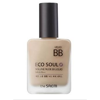 Тональный крем The Saem Volume Nude BB Liquid SPF25 PA++ (02) воск the saem style fix volume wax