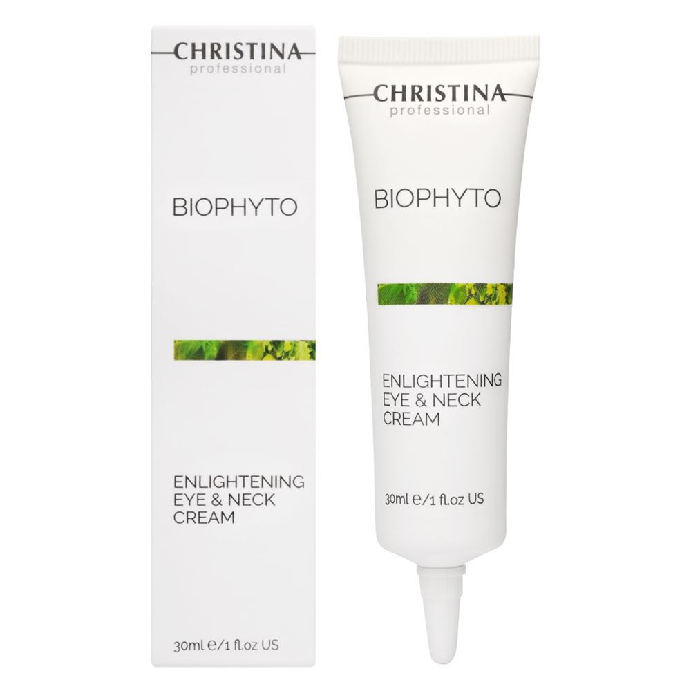 Крем Christina Enlightening Eye And Neck Cream 30 мл christina омолаживающий дневной крем для зоны глаз forever young rejuvenating day eye cream spf15 30 мл