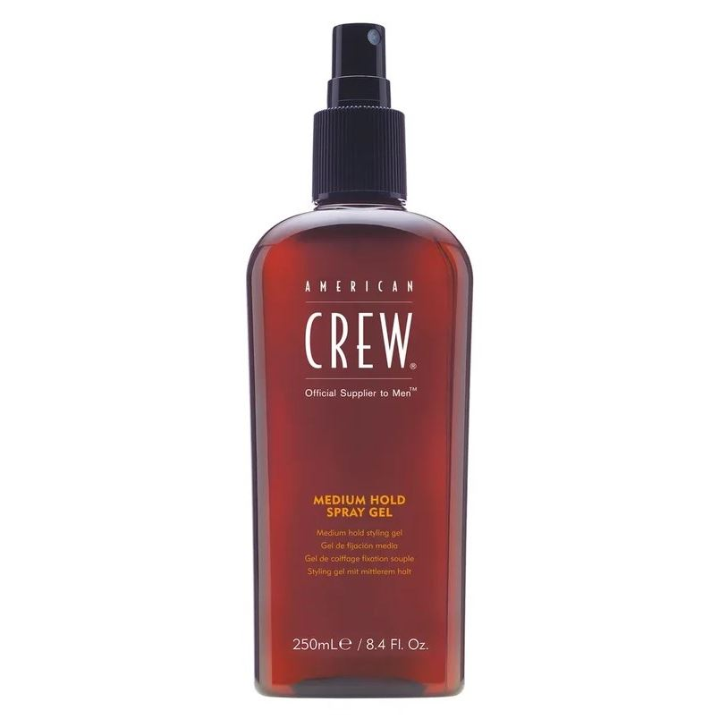 Гель American Crew Medium Hold Spray Gel american crew гель classic firm hold styling gel объем 250 мл