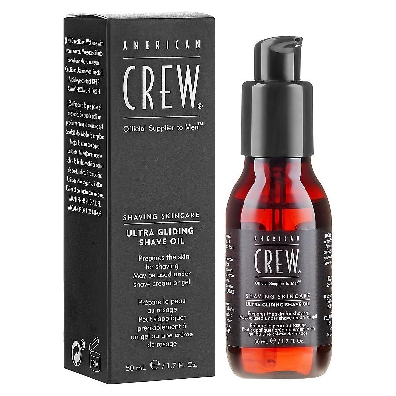 Концентрат American Crew Ultra Gliding Shave Oil  Crew Shaving Skincare 50 мл свитшот insight rebel yell crew midnight oil