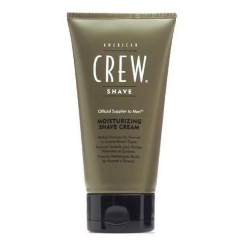 Крем American Crew Moisturizing Shave Cream 150 мл american crew масло для бритья ultra gliding shave oil 50 мл