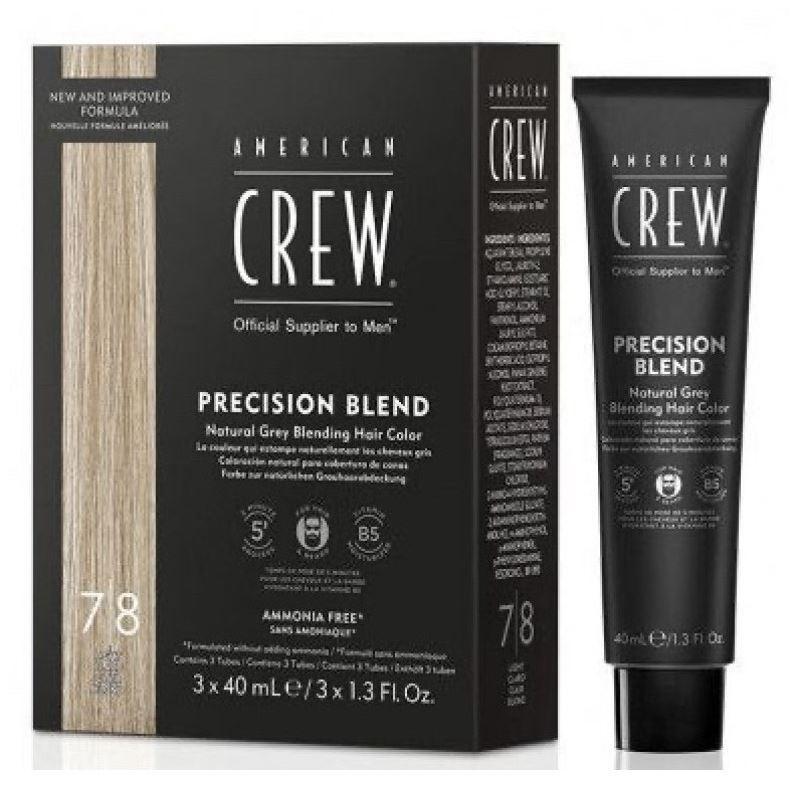 все цены на  Краска для волос American Crew Precision Blend 7/8  онлайн