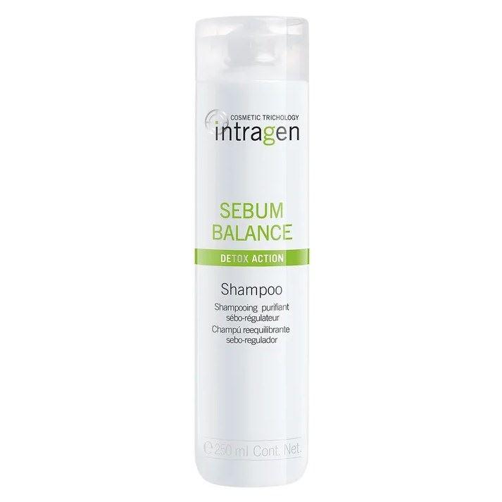 Шампунь Intragen Sebum Balance Shampoo 250 мл senscience senscience шампунь для нормальных волос shampoos and conditioners balance shampoo 42456 300 мл