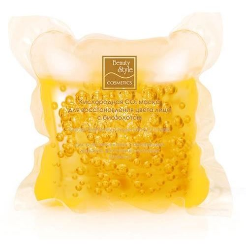 Маска Beauty Style Кислородная СО2 маска для восстановления цвета лица 30 мл beauty style маска кислородная с биозолотом для восстановления цвета лица co2 30 мл
