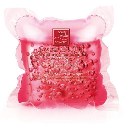Маска Beauty Style Укрепляющая кислородная СО2 маска с фитостволовыми клетками яблока 30 мл лосьон тонизирующий beauty style со стволовыми клетками арганы