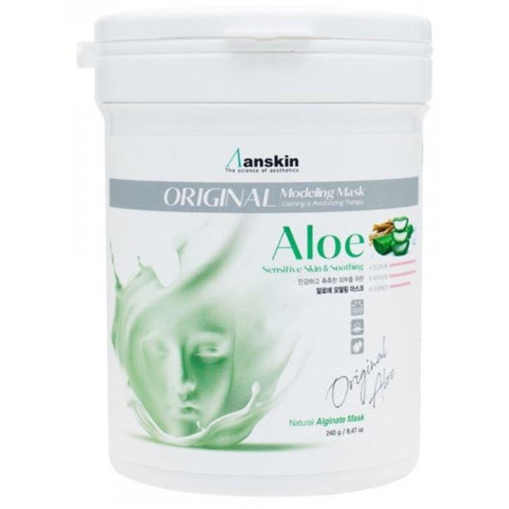Маска Anskin Aloe Modeling Mask (25 г) концентрат anskin modeling activater ultimate solution 65 гр
