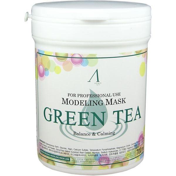 Маска Anskin Green Tea Modeling Mask недорого