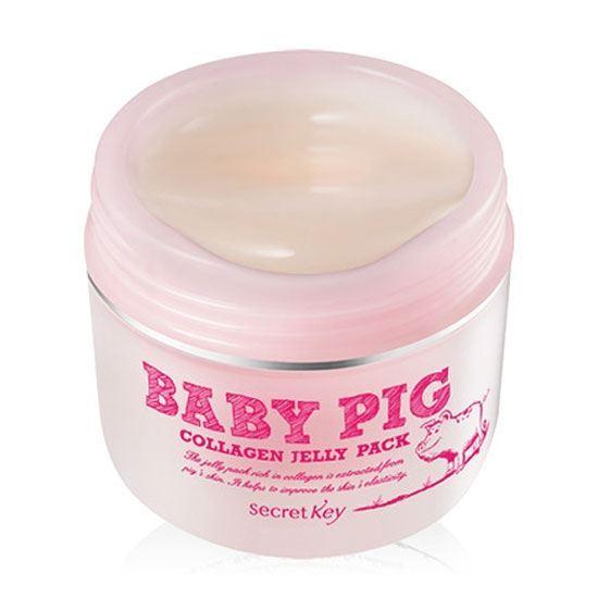 Маска Secret Key Baby Pig Collagen Jelly Pack 100 мл ночная маска для лица pig collagen jelly pack 80 г holika holika