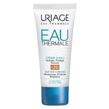 Крем Uriage Eau Thermale Light Water Cream SPF 20 40 мл крем uriage isoliss cream