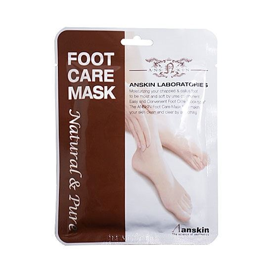 Маска Anskin Natural Pure Foot Care Mask (18 гр) courtin маска спа для ног courtin pedicure spa foot mask 41120 250 г
