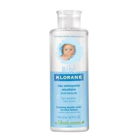 Вода Klorane Очищающая мицеллярная вода klorane мицеллярная вода klorane bebe 500 мл очищающая