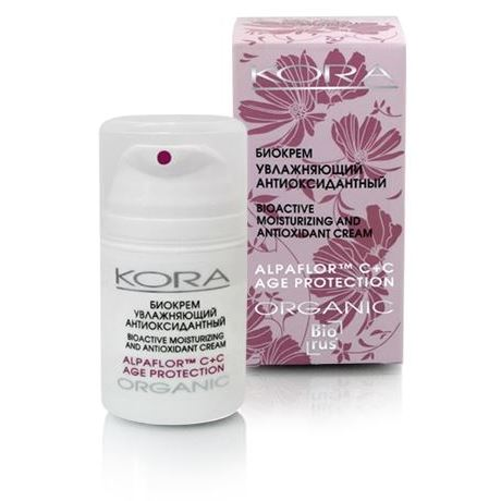 Крем KORA Биокрем увлажняющий антиоксидантный набор крем kora набор spa лифтинг уход набор