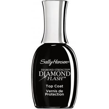 Лак Sally Hansen Diamond Flash Fast Dry Top Coat sally hansen быстросохнущее верхнее покрытие dries instantly 13 3 мл