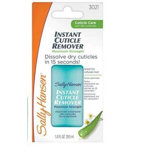 Гель Sally Hansen Instant Cuticle Remover Maximum Strength (29.5 г) гель aravia professional cuticle remover 100 мл