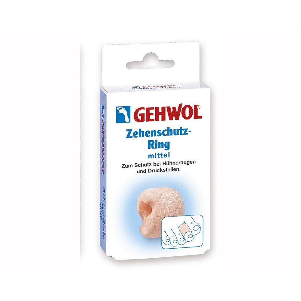 Сопутствующие товары Gehwol Zehenschutz-Ring Mittel (2 шт) сопутствующие товары gehwol hammerzehen polster links 0 1 шт левая
