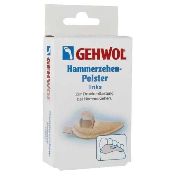 Сопутствующие товары Gehwol Hammerzehen-Polster Links №0 (1 шт. левая) gehwol подушка под пальцы ног малая левая gehwol hammerzehen polster links 1 27502 1шт