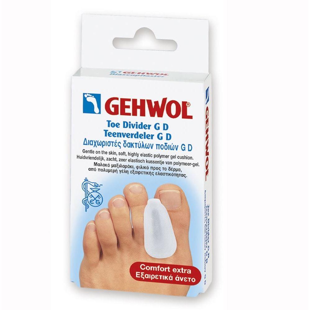 Сопутствующие товары Gehwol Zehenteiler GD Gros (3 шт) сопутствующие товары gehwol zehenteiler gd gros 3 шт