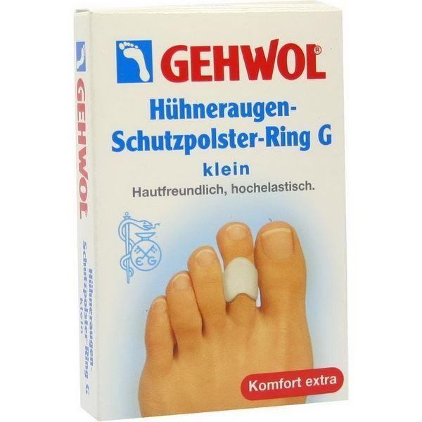 Сопутствующие товары Gehwol Huhneraugen Schutzpolster Ring G Klein (3 шт) сопутствующие товары gehwol hammerzehen polster links 0 1 шт левая