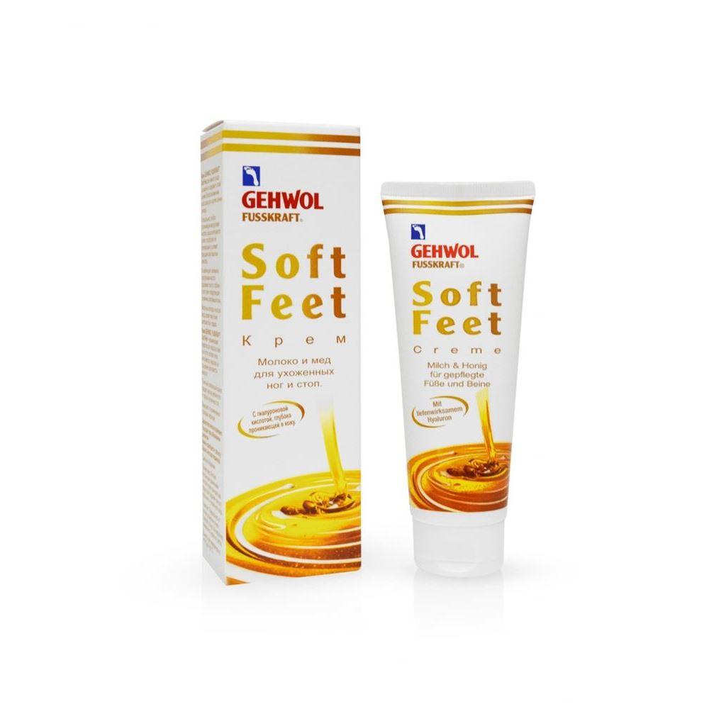 Крем Gehwol Soft - Feet Cream Milk & Honey 125 мл gehwol крем дезодорант gehwol med line deodorant foot cream 1 40705 75 мл