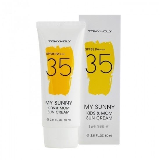 Крем Tony Moly My Sunny Kids & Mom Sun Cream SPF35++ карандаши tony moly my school looks multi color pencil 06