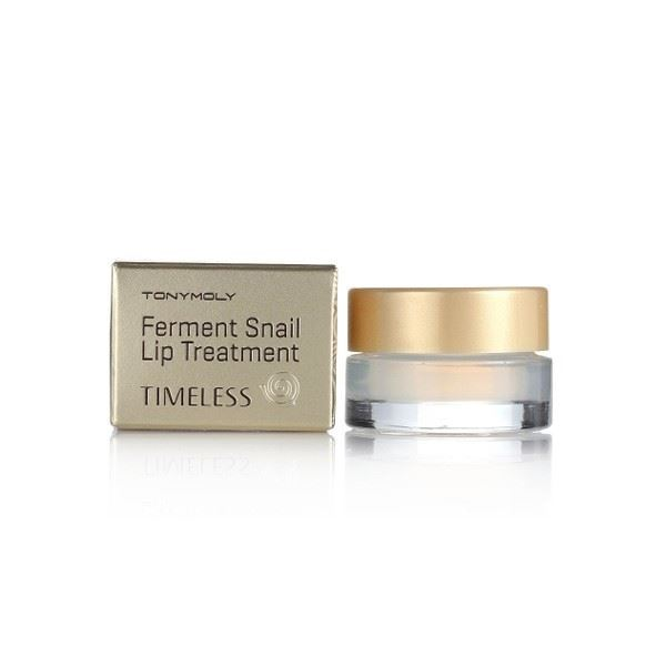 Бальзам Tony Moly Timeless Ferment Snail Lip Treatment (3.5 г) tony moly sheet gel mask kiss kiss lovely lip patch патчи для губ 10 г