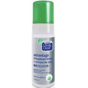 Пенка Clean & Clear Advantage Daily Soothing Acne Wash 150 мл новинки