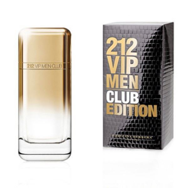 Туалетная вода Carolina Herrera 212 VIP Club Men Edition
