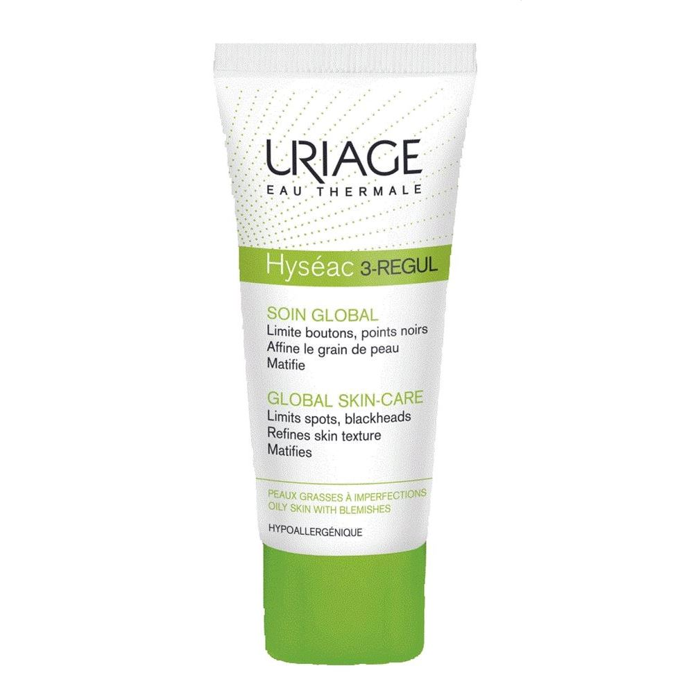 Крем Uriage Hyseac 3-Regul Global Skin-Care For Oily Skin With Blemishes 40 мл