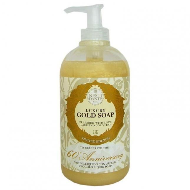Мыло жидкое Nesti Dante Luxury Gold Soap 60 Anniversary  недорого