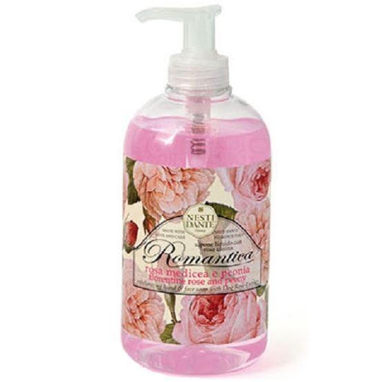 Мыло жидкое Nesti Dante Romantica Florentine Rose & Peony мыло флорентийская роза пион nesti dante мыло флорентийская роза пион