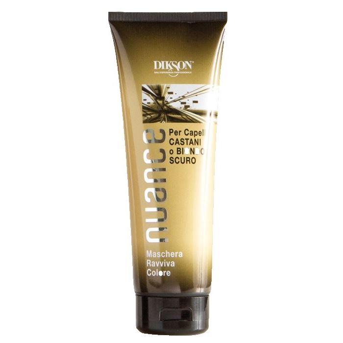Маска Dikson Nuance Brown and Dark Blond Hair 250 мл dikson olio argabeta up capelli colorati масло для окрашенных волос 100 мл