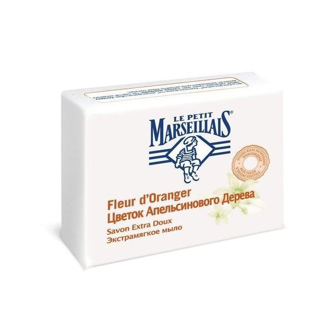 Мыло Le Petit Marseillais Мыло Цветок Апельсинового Дерева мыло le chalet fleur du matin 90г туалетное