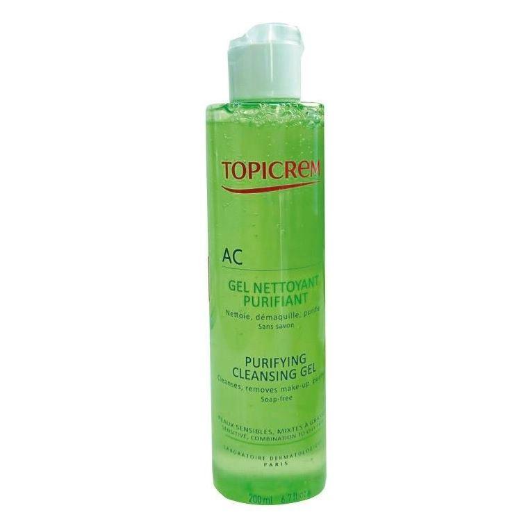 Гель Topicrem AC Gel Nettoyant Purifiant  гель topicrem ad ultra rich cleansing gel
