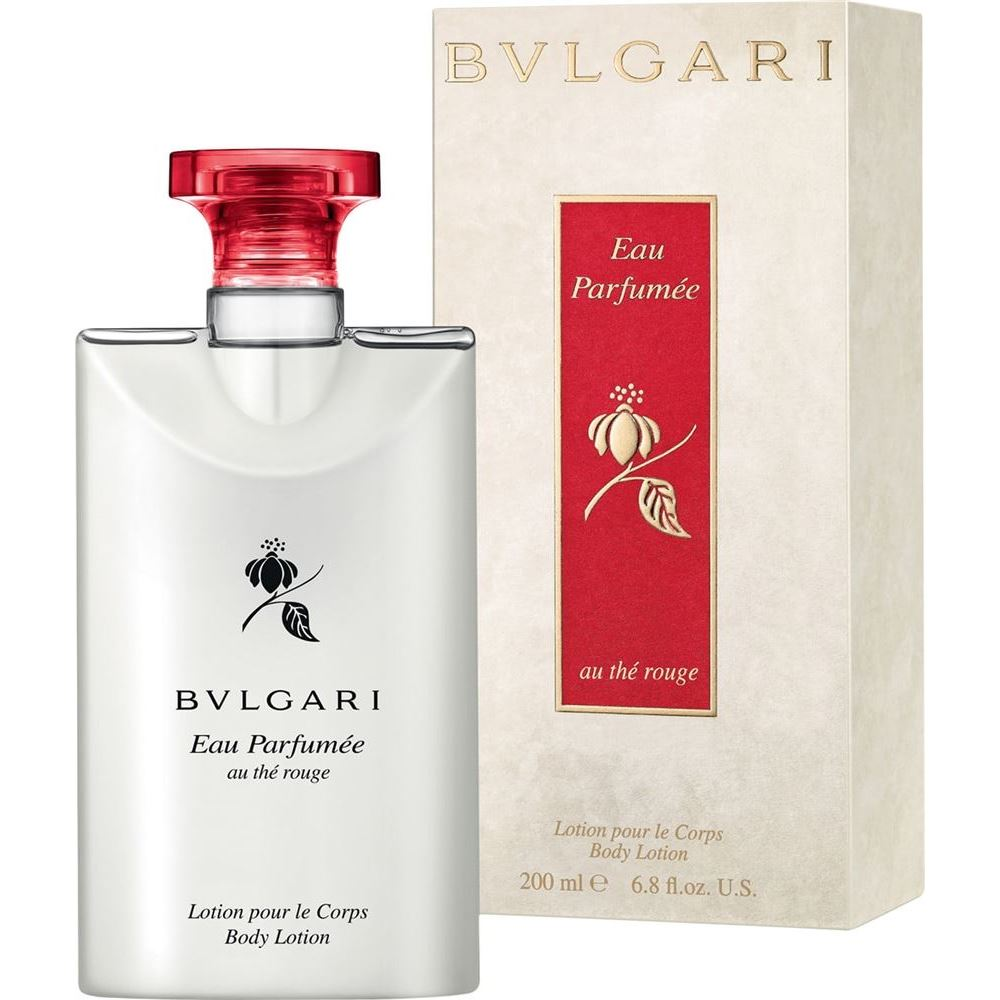 Лосьон для тела Bvlgari Eau Parfumee au The Rouge Body Lotion 200 мл лосьон для тела zeitun honey verbena light body lotion объем 200 мл