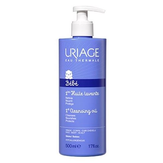 Масло Uriage Bebe 1st Cleansing Oil 500 мл гидрофильное масло it s skin green tea calming cleansing oil объем 145 мл