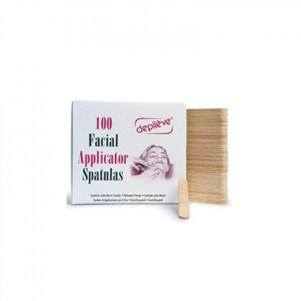 Сопутствующие товары Depileve 100 Facial Applicator Spatulas  (100 шт)