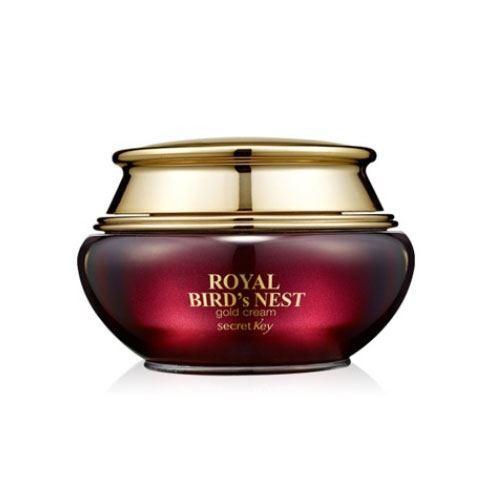 Крем Secret Key Royal Bird's Nest Gold Cream 60 мл сыворотки secret key gold premium сыворотка для лица 24k gold premium first serum