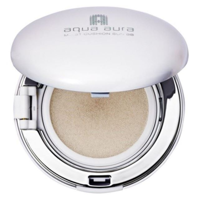 Тональный крем Tony Moly Aqua Aura Moist Cushion Sun BB (сменный блок 03) тональный крем tony moly luminous goddess aura bb spf 37 01