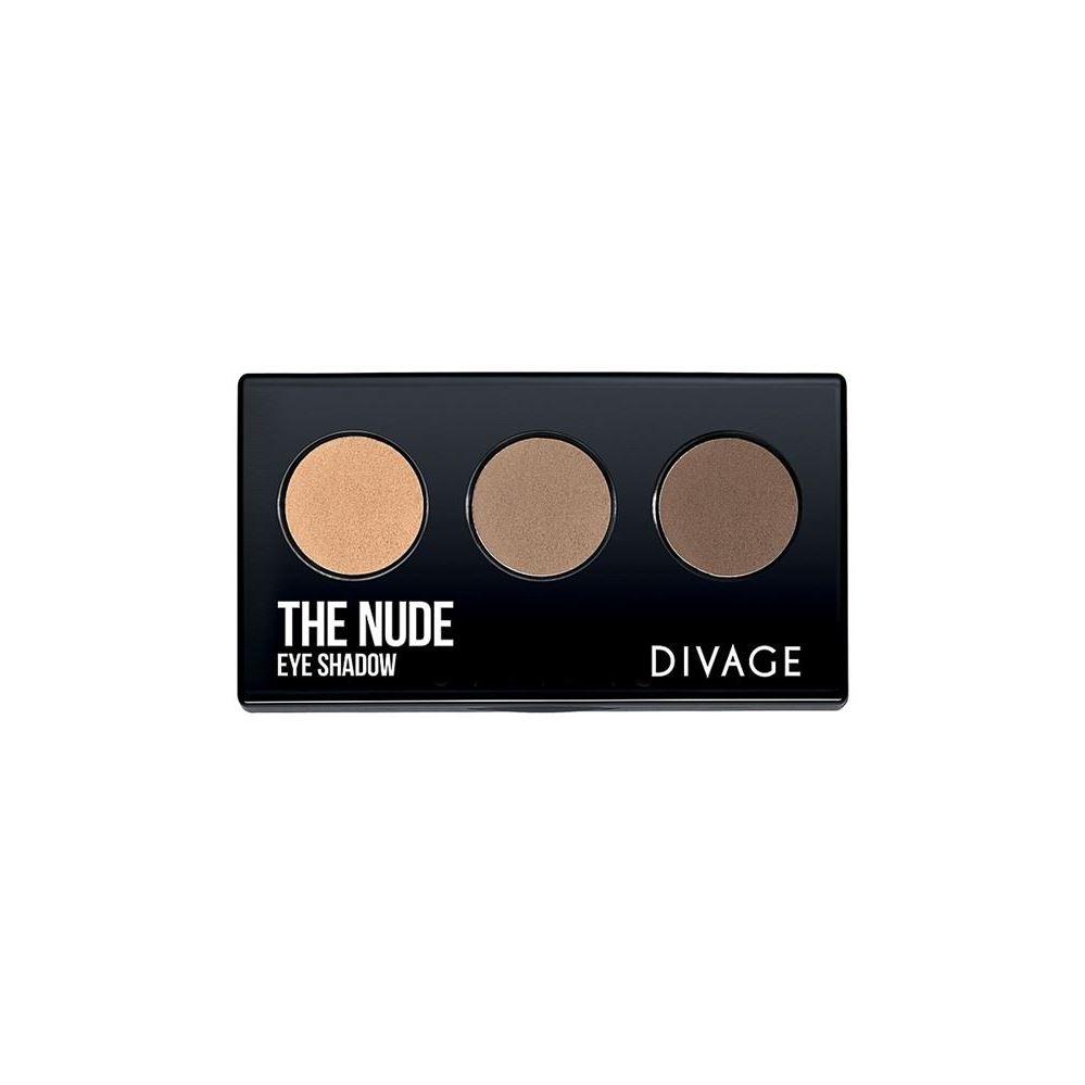 Тени для век Divage The Nude Eye Shadow  (02) тени divage палетка теней для век palettes eye shadow товар midnight