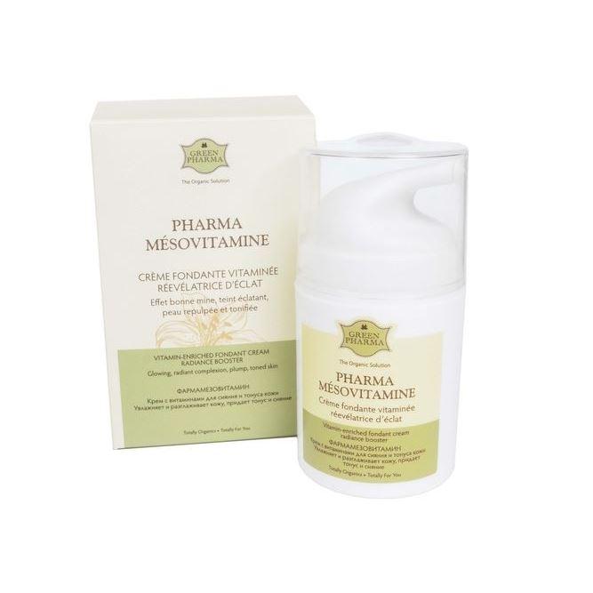 Крем Green Pharma Fharma Mesovitamine Creme Foundante Vitaminee Revelatrice D'Eclat 50 мл ge pharma jetfire в одессе