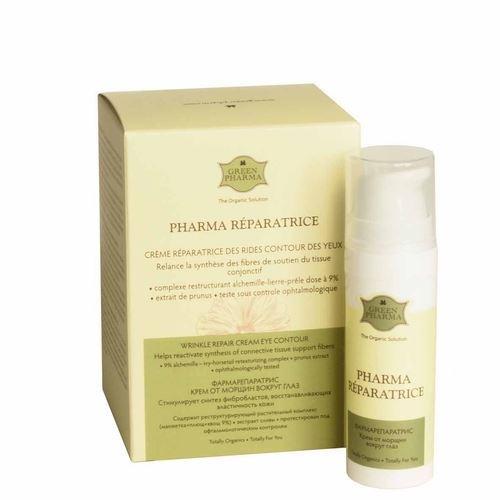 Крем Green Pharma Fharma Reparatrice Creme Des Rides Contour Des Yeux 15 мл greenpharma крем от морщин вокруг глаз
