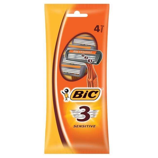 Бритва Gillette BIC 3 Станки одноразовые  (2 шт)