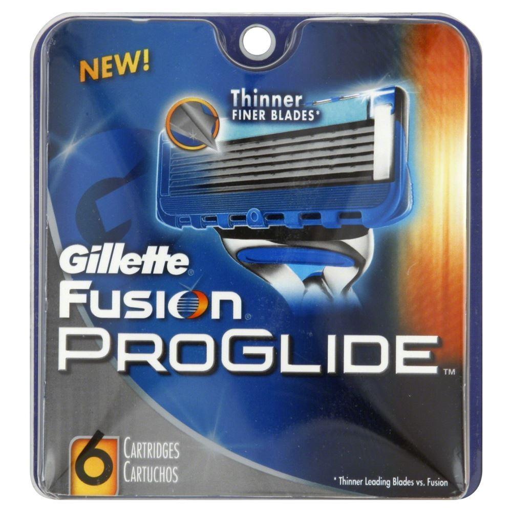 Кассеты Gillette Fusion Proglide - 6 Сменные кассеты (6 шт. (eng)) недорого