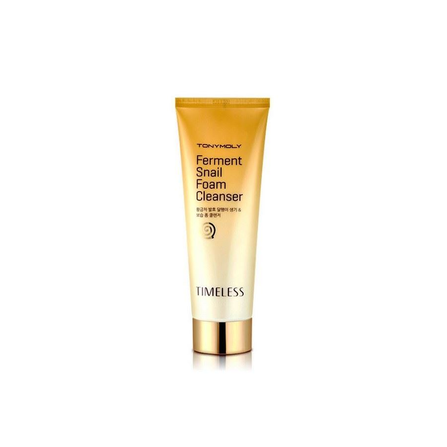 Пенка Tony Moly Timeless Ferment Snail Foam Cleanser