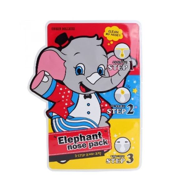 Маска Baviphat 3-Step Elephant Nose Pack  (1 упаковка) маска elizavecca 3 step aqua white water mask pack