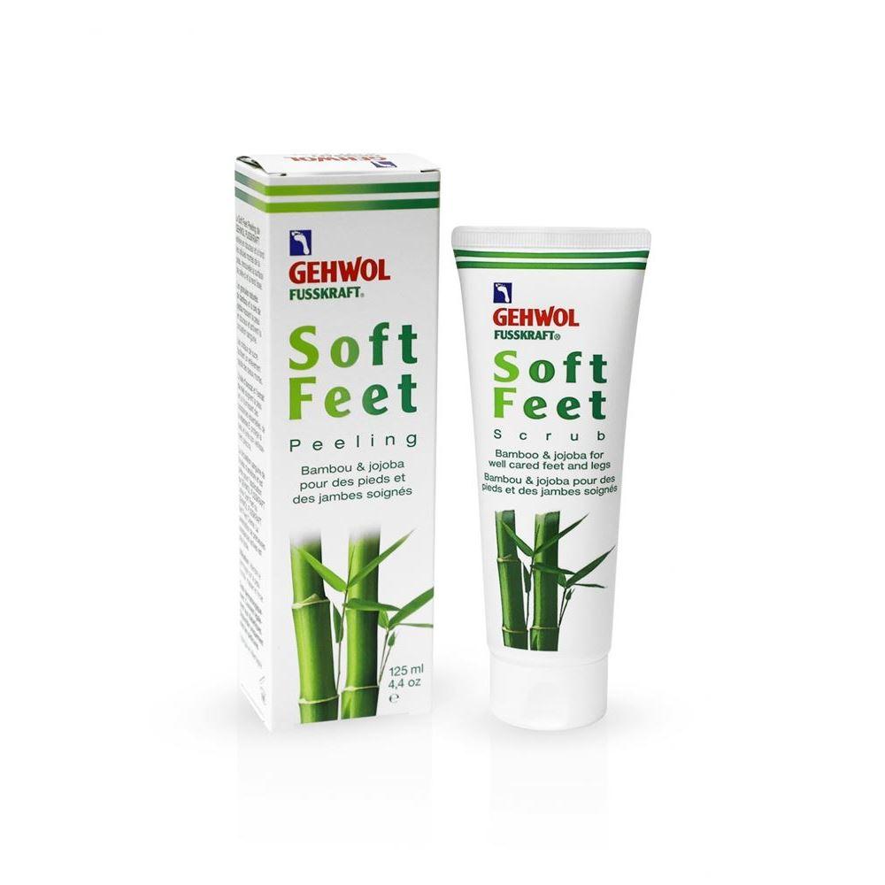 Пилинг Gehwol Soft Feet Peeling 125 мл promoitalia пировиноградный пилинг pro plus пировиноградный пилинг pro plus 50 мл 50 мл 45%
