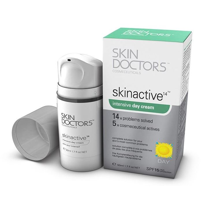 Крем Skin Doctors Skinactive14™ Intensive Day Cream 50 мл крем skin doctors skinactive14™ regenerating night cream 50 мл