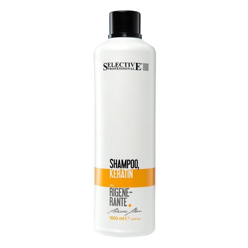 Шампунь Selective Professional Shampoo Keratin Rigenerante набор selective professional golden power shampoo
