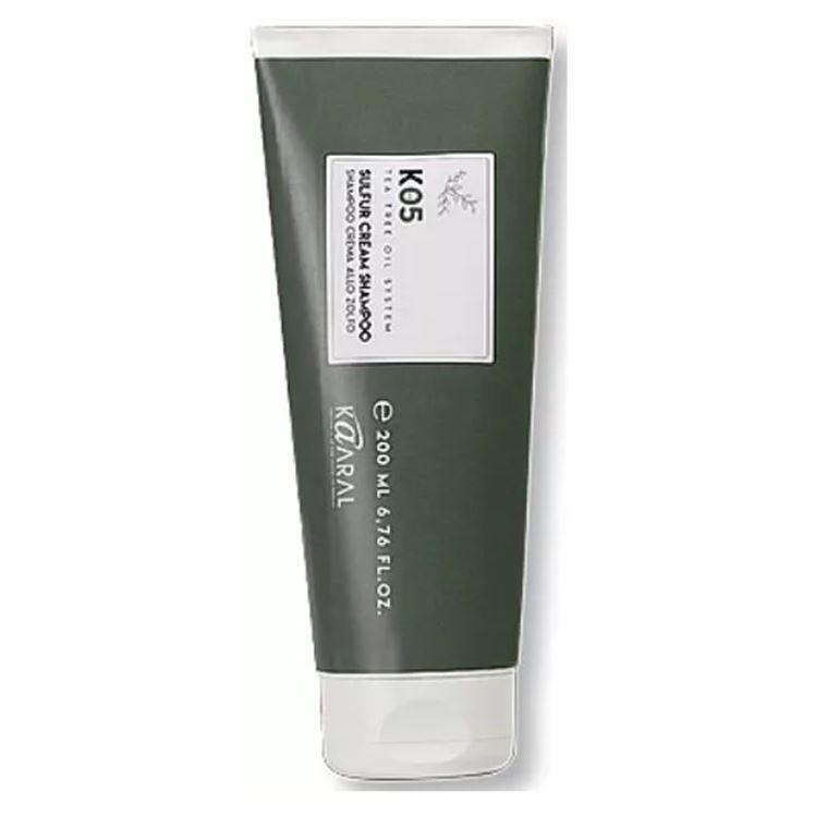 Крем Kaaral Sulphur Cream Shampoo гексафторид серы в москве