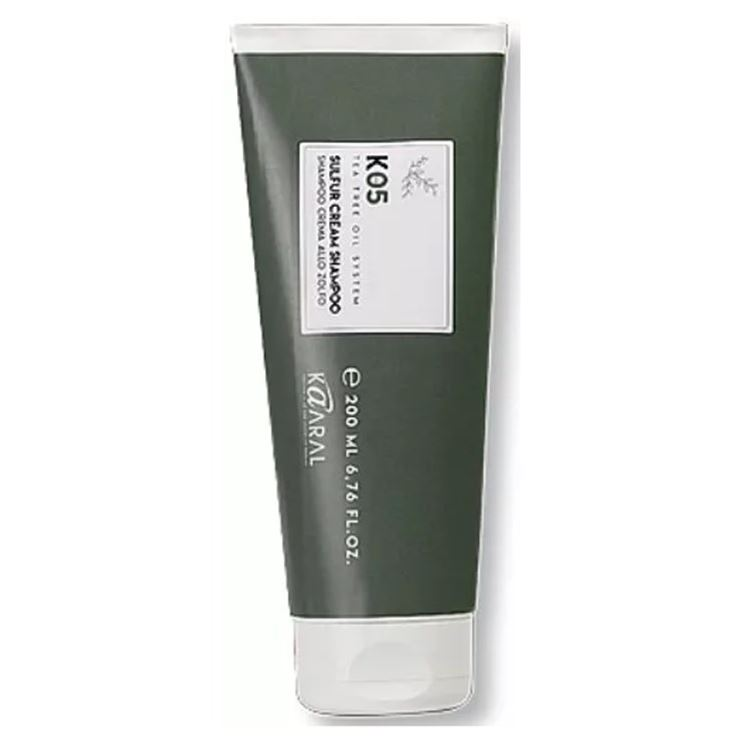Крем Kaaral Sulphur Cream Shampoo 200 мл крем schwarzkopf professional 2 medium control upload volume cream 200 мл